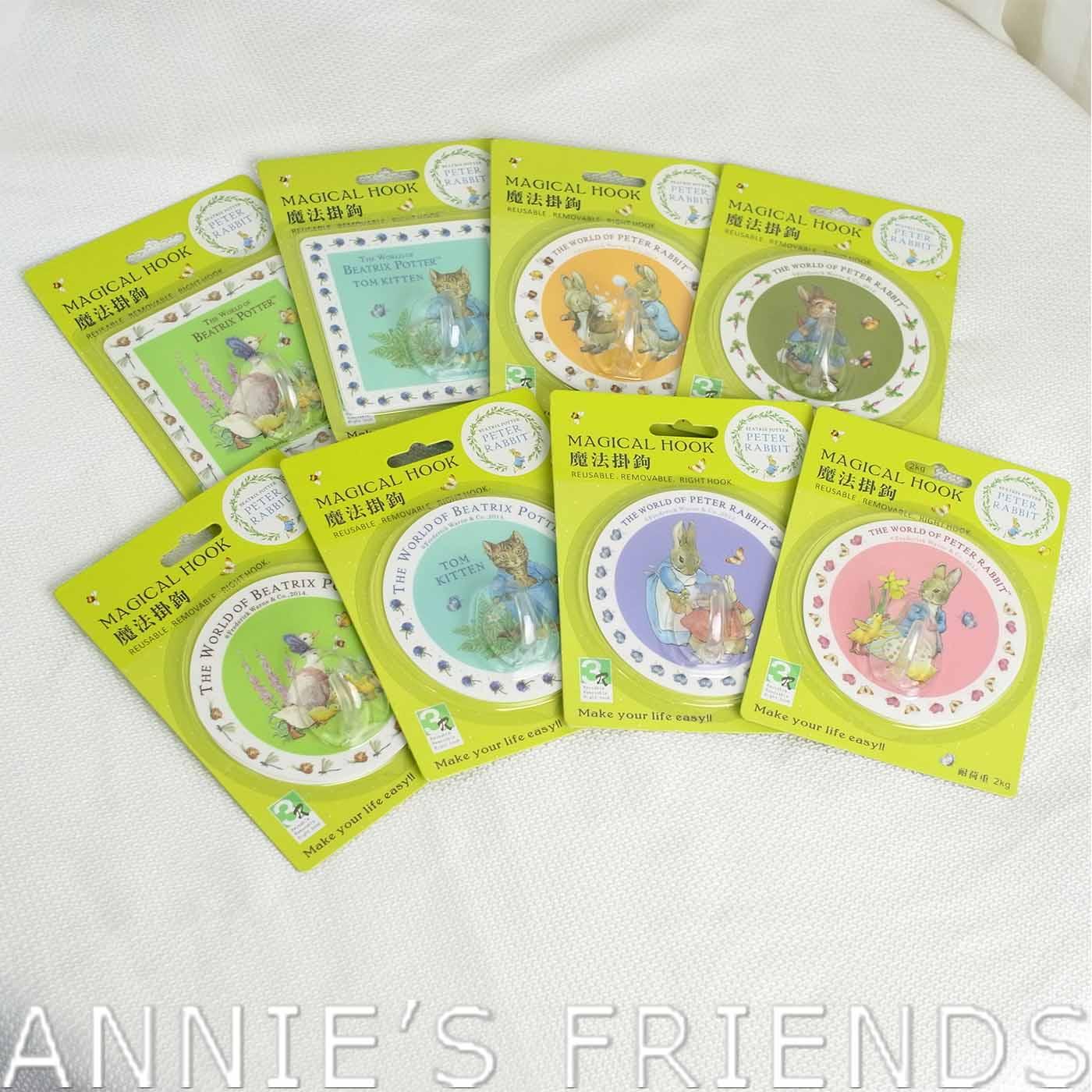 ~Annie #x27 s Friends~Peter Rabbit 比得兔馬卡龍魔法掛勾