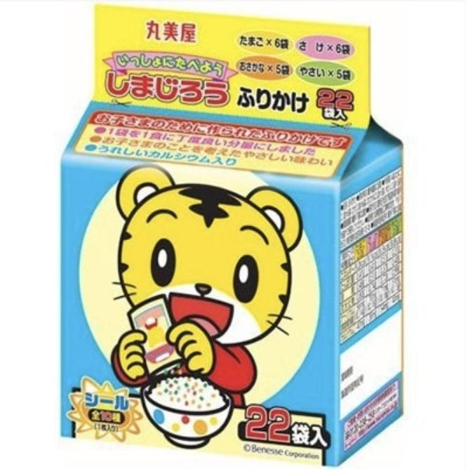 日本 飯友 拌飯香鬆 袋裝22袋入(巧虎/凱蒂貓/小小兵/拉拉熊/麵包超人/三麗鷗野菜)