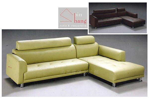 【尚品傢俱】610-04 普卡貝里 L型沙發~~台灣製造~台中市部分免運