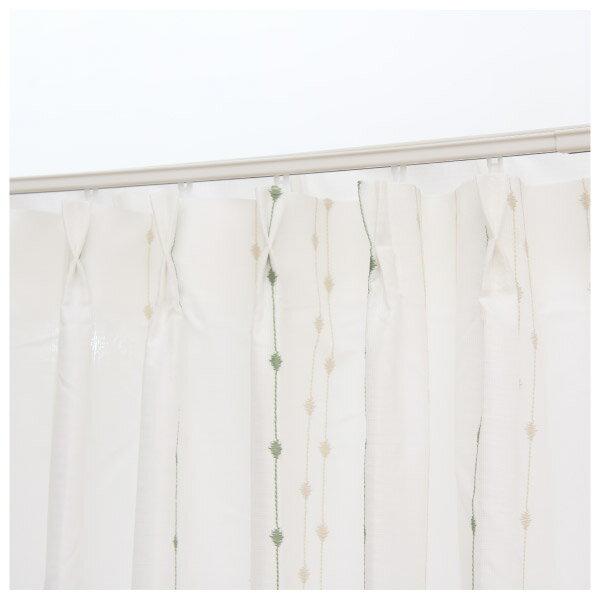 蕾絲窗簾 G CORAL YGR 150×228×1 NITORI宜得利家居 1