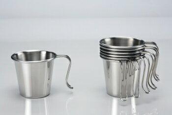 【露營趣】中和 文樑 白金杯 大口杯 304材質 不鏽鋼杯 不鏽鋼碗 ST-2021