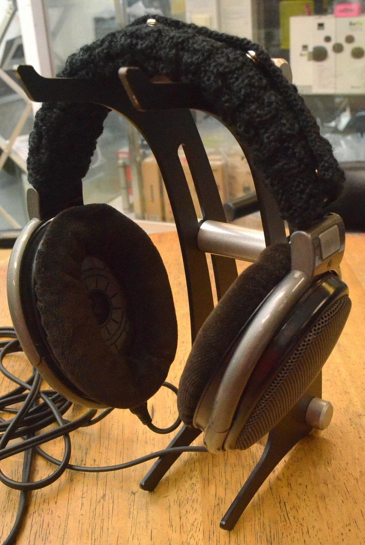 志達電子 HHBPS 耳機頭梁保護套 黑/灰二色可選 適用HD650 HD600 DT990 HD800 T1 K701 K712