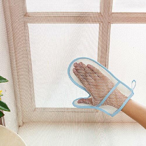 ?MY COLOR? 創意手型除塵手套 抹布 紗窗 清潔布 吸水 家用 紗網 清潔 布巾 居家 打掃【N313】