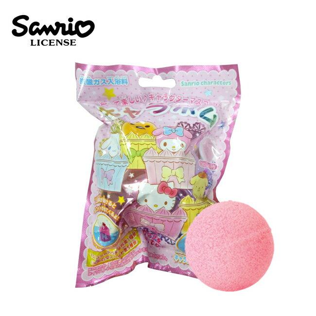 【日本正版】三麗鷗人物 甜點造型 沐浴球 花香味 泡澡劑 入浴球 泡澡球 款式隨機 671283