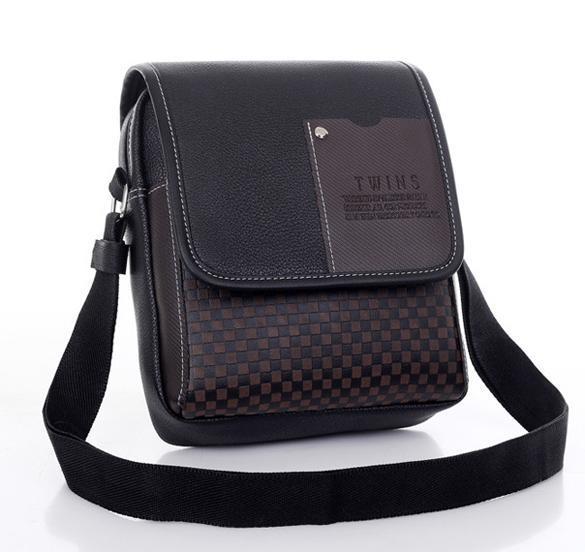 Men's Synthetic Leather Handbag Messenger Briefcase 4