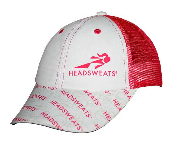 HEADSWEATS-全球領導品牌.卡車司機帽.女性輕便,休閒的裝扮,品味與眾不同,!白色,桃紅,時尚,設計,流行!