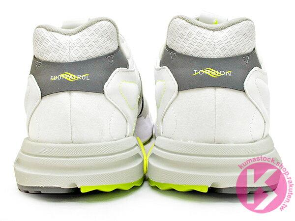 [20% OFF] 2019 限量發售 英國知名鞋舖 FOOTPATROL x adidas Consortium ZX TORSION FP 灰白螢光黃 內藏 BOOST 緩震科技 (EF7681) ! 4