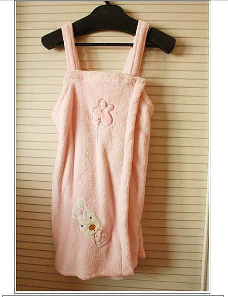 =優生活=『少女必備款』砂糖兔le sucre 法國兔超柔軟珊瑚絨 睡袍 浴袍 家居服 可當睡衣