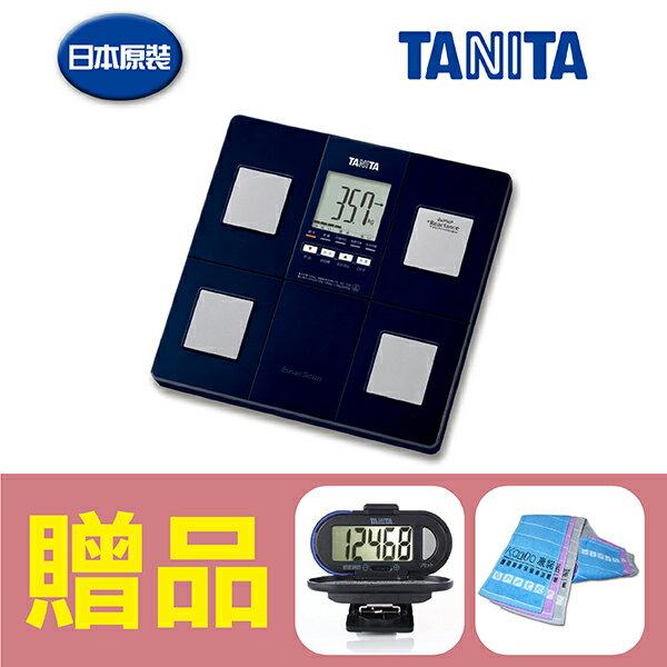 【日本TANITA】塔尼達 體脂肪計 體脂計 八合一體脂計 BC-706 ,贈品:TANITA計步器+康諾純棉運動毛巾x1