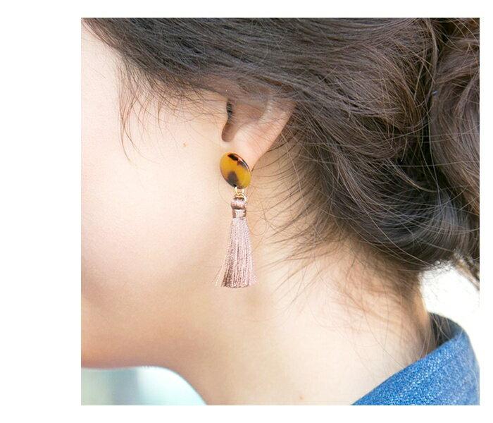 日本CREAM DOT  /  復古流蘇耳環  /  qc0140  /  日本必買 日本樂天直送(600) 6