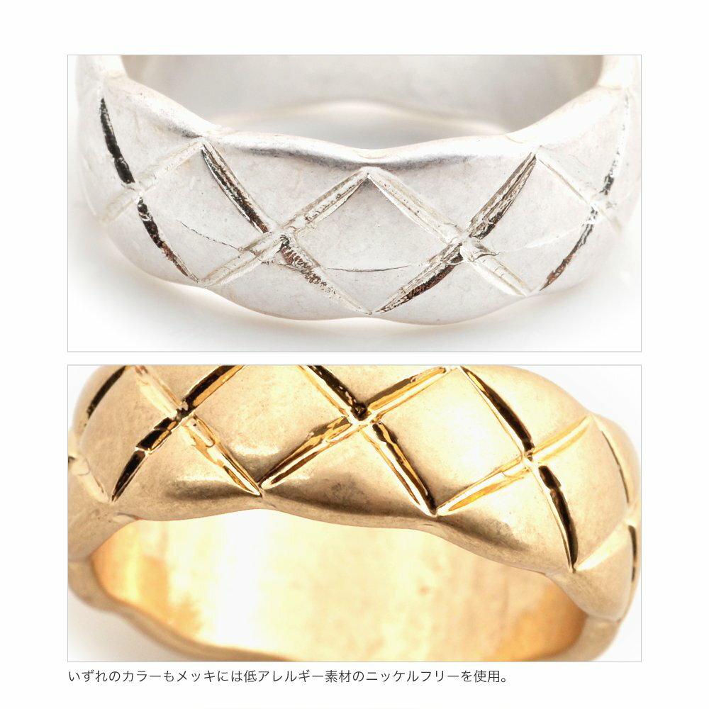 日本CREAM DOT  /  リング 指輪 金属アレルギー ニッケルフリー アクセサリー ボリューム 太め ごつめ 幅広 メンズライク 12号 メタル ゴールド シルバー シンプル 重ねづけ 上品 お呼ばれ 小物 ギフト 大人 レディース 女性  /  qc0434  /  日本必買 日本樂天直送(1190) 5
