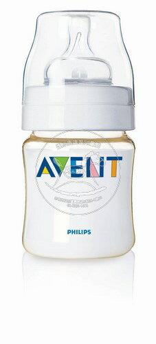 【迷你馬】PHILIPS AVENT PES防脹氣奶瓶(125ml/4oz)-單入 E65A049008