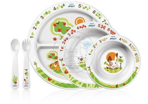【迷你馬】PHILIPS AVENT QQ兔學習餐具禮盒組 E65A500004