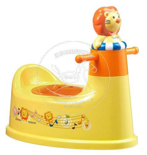 【迷你馬】Simba 小獅王辛巴 造型音樂馬桶座 S9835