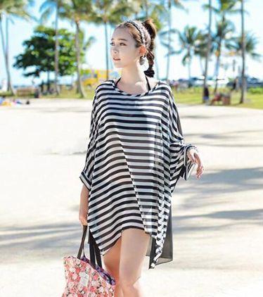 外套衣服泳衣外搭比基尼罩衫防曬衣女中長款沙灘海邊度假