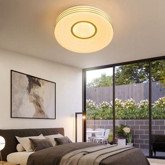 臥室創意簡約燈飾簡約超薄led兒童房客廳燈家用過道陽臺燈