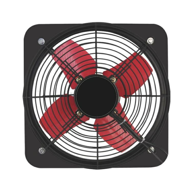廚房排油排氣扇鐵排風扇強力12寸窗式家用通風換氣扇抽油煙抽風機