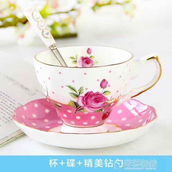 品來運歐式咖啡杯套裝骨瓷下午茶茶具陶瓷英式花茶杯套裝家用