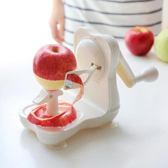 日式蘋果削皮機水果削皮器削皮刀多功能手搖水果去皮器