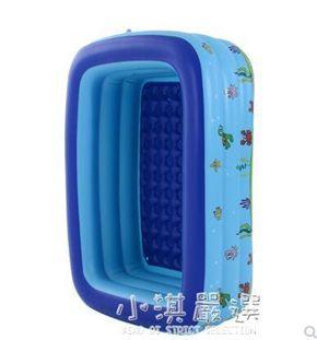 加厚游泳池家用超大號成人幼寶寶嬰兒童充氣大型家庭洗澡桶戲水池CY