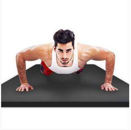 悅步男士健身墊初學者瑜伽墊加厚加寬加長防滑運動瑜珈墊子YTL