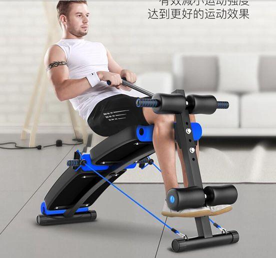 佳諾仰臥起坐健身器材家用男士練腹肌仰臥板多功能運動輔助器