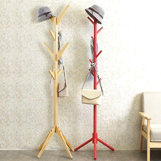 創意多功能衣帽架簡易組裝架子臥室掛衣架客廳收納整理架