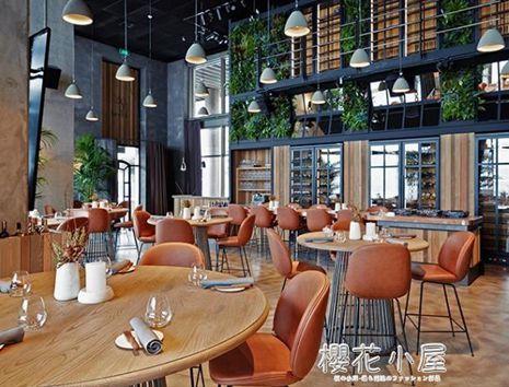 吧臺椅現代簡約金色吧凳酒吧椅高腳椅高腳凳絨布家用吧椅休閒吧椅QM