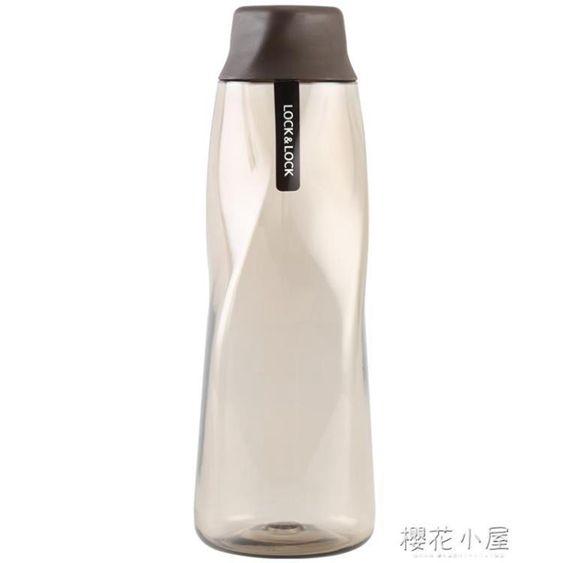樂扣樂扣冰峰杯塑料水杯夏季運動創意個性杯子水瓶冷水壺學生男女QM