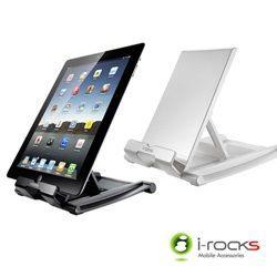 {光華成功NO.1}i-rocks 艾芮克 IRC08 (黑、白) iPad/平板/智慧手機 折疊立架 喔!看呢來