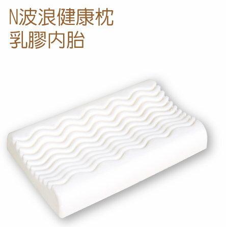 Mam Bab夢貝比 - 好夢熊乳膠枕心N波浪健康枕 (粉、黃、藍) 4