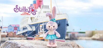 現貨 席捲迪士尼 日本東京海洋迪士尼 達菲新朋友-Stella lou 史黛拉兔 芭蕾兔 坐姿玩偶吊飾14cm 站姿玩偶吊飾 19cm
