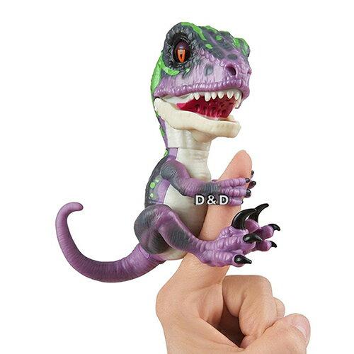 【Fingerlings】互動寵物恐龍-Razor(紫)