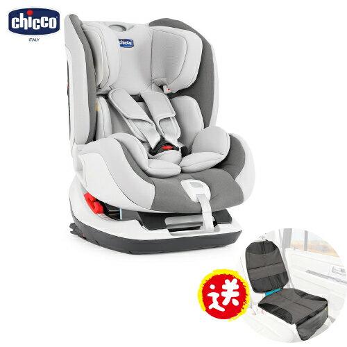 【本月加碼送汽座保護墊】義大利【Chicco】Seat up 012 Isofix汽車安全座椅-灰色