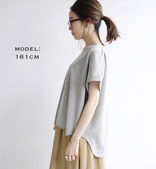 日本e-zakka / 簡約素色寬版短袖T恤 / 32190-1900079 / 日本必買 代購 / 日本樂天直送(1500) 8