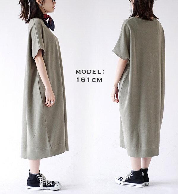 日本e-zakka / 素色短袖長版連衣裙 / 32190-1900080 / 日本必買 代購 / 日本樂天直送(2300) 8