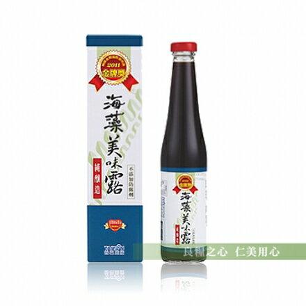 台鹽 海藻美味露(420ml/瓶)
