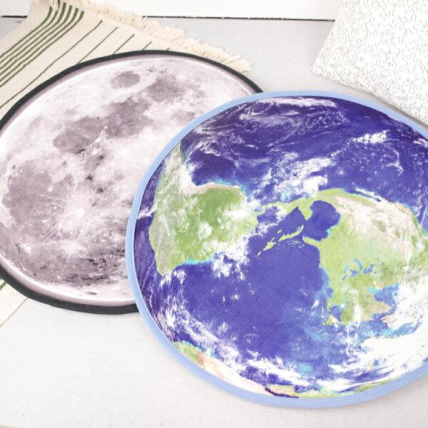 PGS7其他卡通系列商品-星球造型防滑地墊地球月球【SFZ80090】
