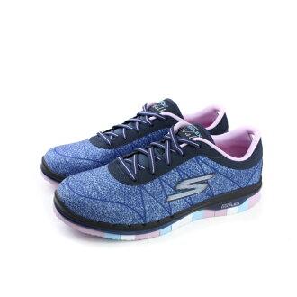 SKECHERS GOFLEX Walk 運動鞋 藍色 童 no499