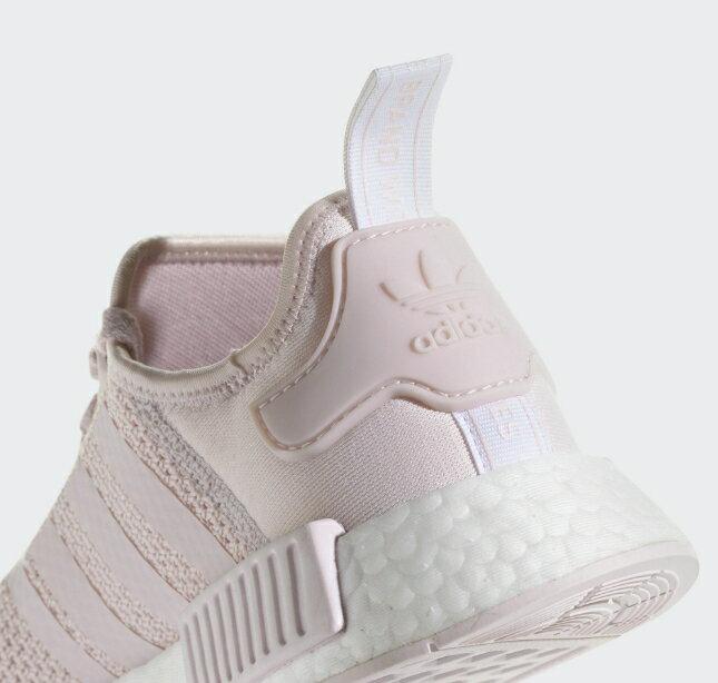 【ADIDAS】NMD_R1 紫藕 經典鞋 休閒鞋  慢跑鞋 女 訂價5290 B37652 (Palace store) 4