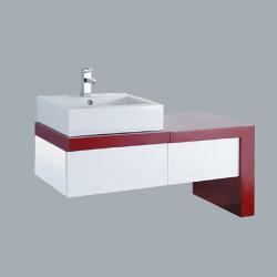 HCG臉盆浴櫃/不含水龍頭/L400SAdb+LCP6058FR+LCP6033BS