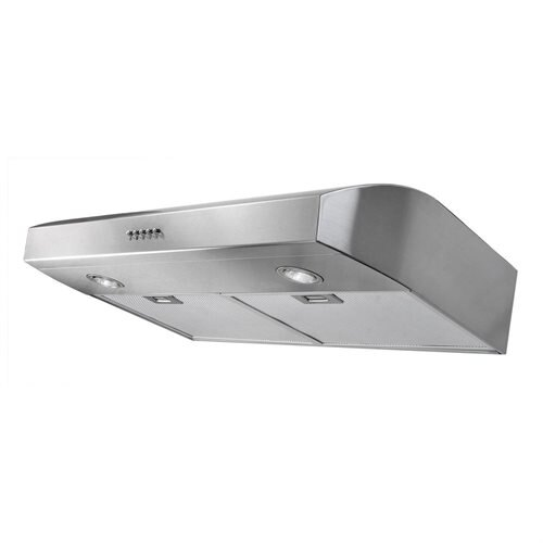 "AKDY 30"" AK-FSD-W0175SS Stainless Steel Under Cabinet Range Hood 300CFM W/3 Color Options 0"