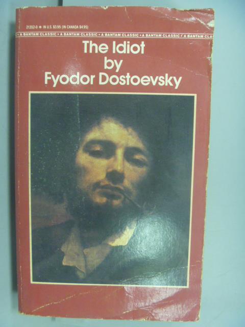 ~書寶 書T2/原文小說_NMV~The Idiot by Fyodor Dostoevs