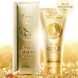 韓國 Elizavecca 24K黃金蝸牛洗面乳【Miss.Sugar】【K4003681】
