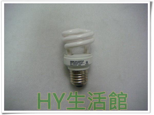飛利浦小螺旋燈泡 Tornado超亮型 5W 110V E27頭 白光 / 黃光 省電燈泡