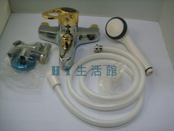 亨通S-555沐浴蓮蓬頭(大組)【精密陶瓷單槍沐浴龍頭 大出水量 日本瓷心 台製】