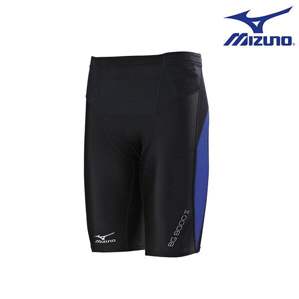 K2MJ6A1192(黑*藍)新發售 新進化 BG8000Ⅱ 男短版緊身褲 【美津濃MIZUNO】