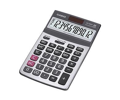 [公司貨2年保固]CASIO 計算機 AX-120ST 12位數/金屬面板/可掀式面板