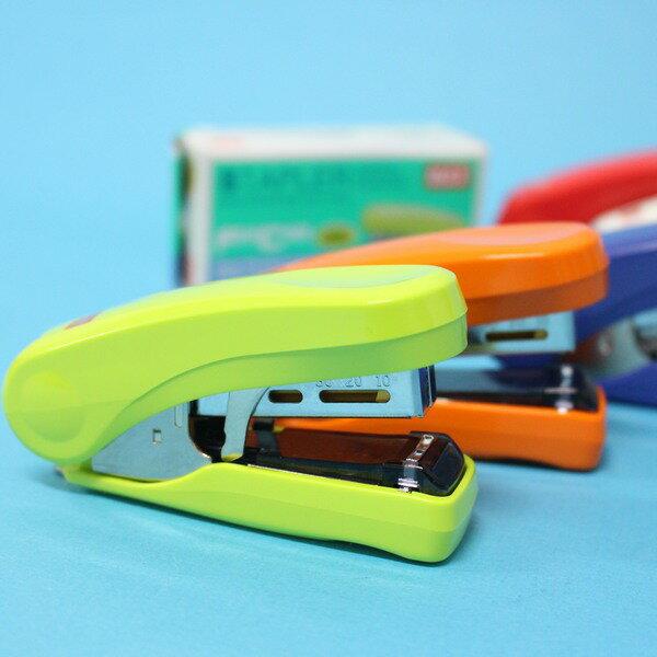 MAX釘書機HD-10FS日本製釘書機訂書機(小)一大盒10個入{定200}~雙排平針~