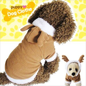 寵物裝可愛麋鹿兩腿變身E118~A147 聖誕節寵物衣服寵物服裝寵物服飾店.毛小孩小狗衣服